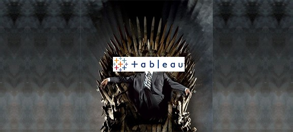 tableau throne