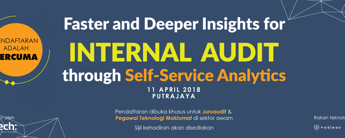 Faster and Deeper Insights for Internal Audit Through Self-Service